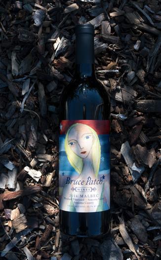 Photo - Bruce Patch Wines 2014 Woolard Vineyard Sonoma Valley Malbec