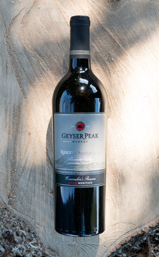 Geyser Peak Winery 2013 Reserve Alexandre Alexander Valley Sonoma County Winemaker's Reserve Meritage 750ml Wine Bottle