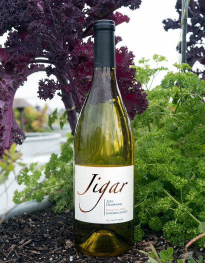 Jigar Wines 2014 Russian River Valley Sonoma County Chardonnay 750ml Wine Bottle