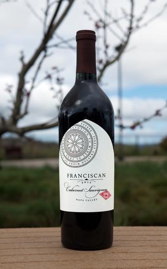 Franciscan Estate 2015 Napa Valley Cabernet Sauvignon 750ml Wine Bottle