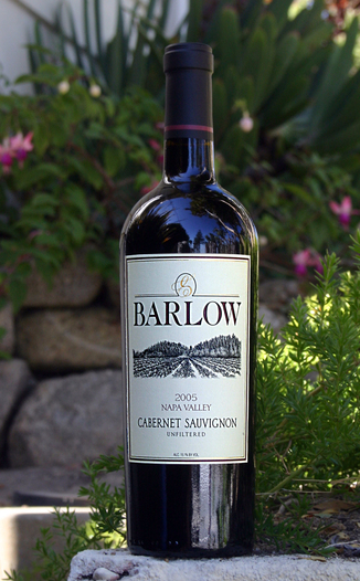 Barlow Vineyards 2005 Cabernet Sauvignon 750ml Wine Bottle