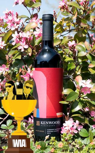 Kenwood Vineyards 2013 Artist Series Sonoma County Cabernet Sauvignon 750ml Wine Bottle