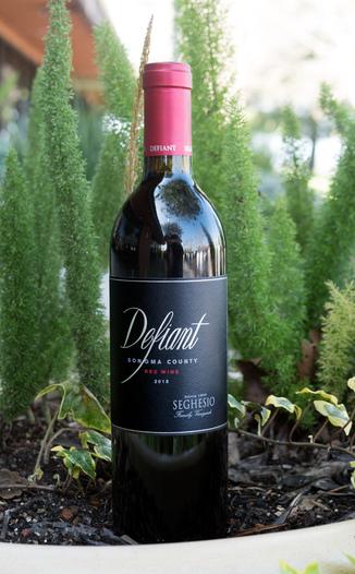 Seghesio Family Vineyards 2015 Defiant Sonoma County Red Wine 750ml Wine Bottle