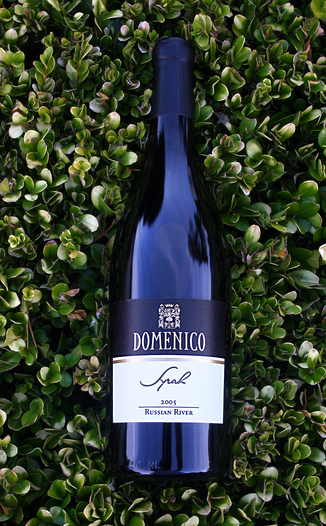 Domenico Wines 2005 Syrah, Russian River Valley  750ml Wine Bottle