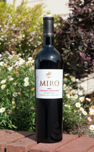 Miro Cellars 2015 aCure eState Vineyard Alexander Valley Sonoma County Cabernet Sauvignon 750ml Wine Bottle