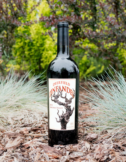 Deerfield Ranch 2012 Sonoma Valley Zinfandel 750ml Wine Bottle