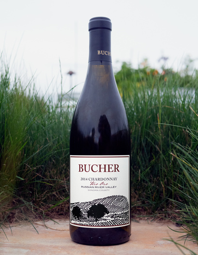 Bucher 2014 Rio Oro Russian River Valley Sonoma County Chardonnay 750ml Wine Bottle