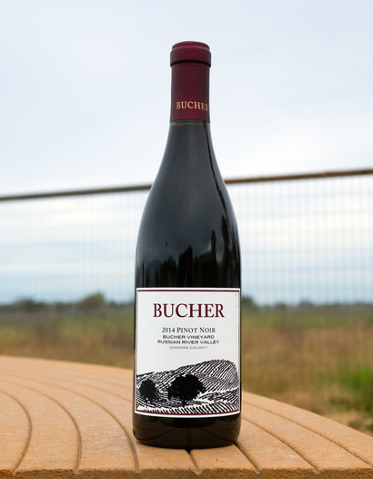 Bucher 2014 Bucher Vineyard Russian River Valley Sonoma County Pinot Noir 750ml Wine Bottle