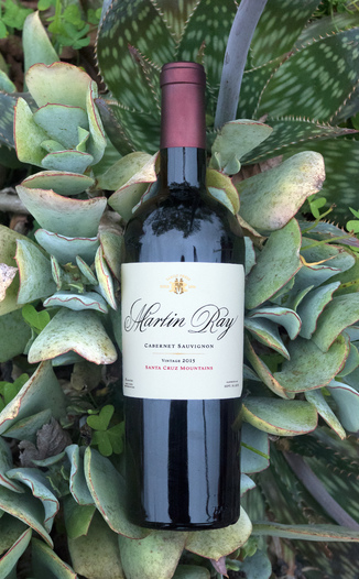 Martin Ray Winery 2015 Santa Cruz Mountains Cabernet Sauvignon 750ml Wine Bottle