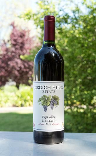 Grgich Hills Estate 2014 Estate Grown Napa Valley Merlot 750ml Wine Bottle