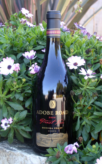 Adobe Road 2006 Pinot Noir 750ml Wine Bottle