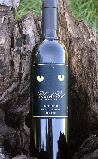 Black Cat Vineyard 2005 Family Cuvee  750ml Wine Bottle
