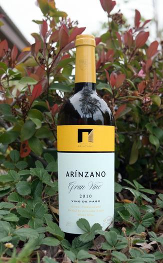 "Arinzano 2010 D.O.P. Pago de Arinzano ""Gran Vino Blanco"" Chardonnay 750ml Wine Bottle"