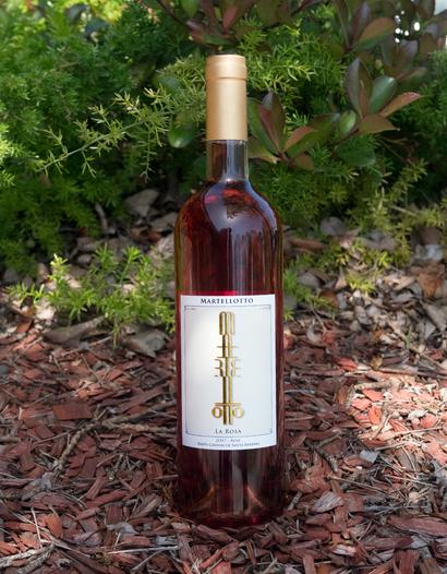 "Martellotto Wines 2017 ""La Rosa"" Happy Canyon of Santa Barbara Rosé 750ml Wine Bottle"