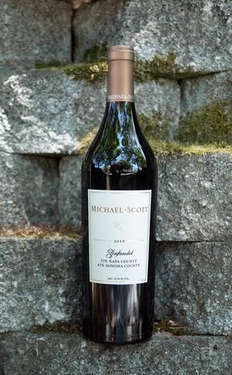 Michael-Scott 2013 Napa/Sonoma County Zinfandel 750ml Wine Bottle