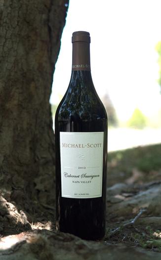 Michael-Scott 2012 Napa Valley Cabernet Sauvignon 750ml Wine Bottle