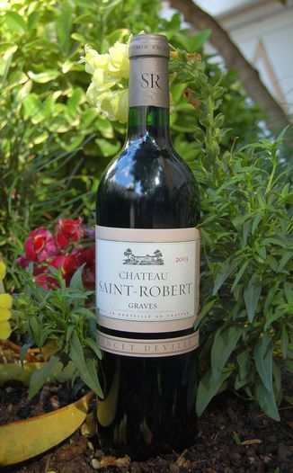 Chateau Saint-Robert 2003 Cuvee Poncet-Deville 750ml Wine Bottle