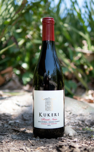 Kukeri Wines 2016 Cornerstone Vineyard Los Carneros Sonoma County Pinot Noir 750ml Wine Bottle