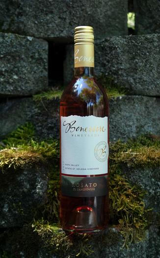 Benessere Vineyards 2017 Estate St. Helena Vineyard Napa Valley Rosato Di Sangiovese 750ml Wine Bottle