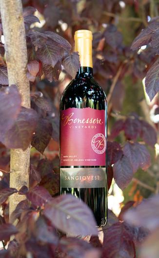 Benessere Vineyards 2016 Estate St. Helena Vineyard Napa Valley Sangiovese 750ml Wine Bottle