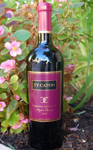 Ty Caton Vineyards 2003 Napa Valley Cabernet Sauvignon 750ml Wine Bottle