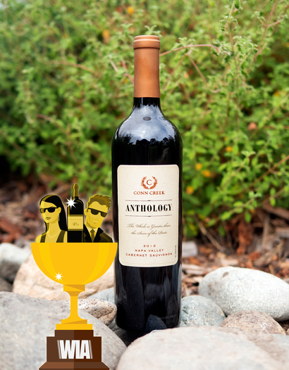 "Conn Creek Winery 2013 ""Anthology"" Napa Valley Cabernet Sauvignon 750ml Wine Bottle"