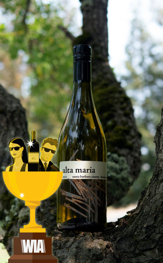 Alta Maria 2014 Santa Barbara County Chardonnay 750ml Wine Bottle