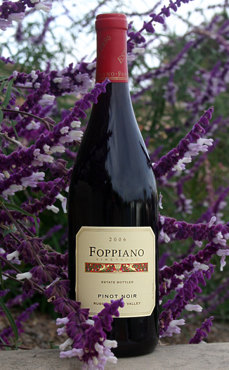 Foppiano Vineyards 2006 Pinot Noir, Russian River Estate 750ml Wine Bottle