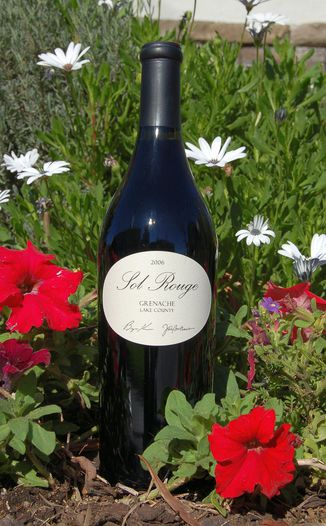 Sol Rouge Vineyard & Winery 2006 Lake County Grenache 750ml Wine Bottle