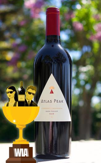 Atlas Peak Wines 2016 Napa Valley Cabernet Sauvignon 750ml Wine Bottle