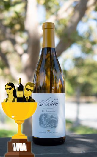 Antica Napa Valley 2015 Napa Valley Chardonnay 750ml Wine Bottle
