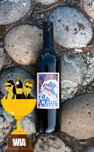 "Random Ridge 2016 ""Old Wave"" Zinfandel 750ml Wine Bottle"