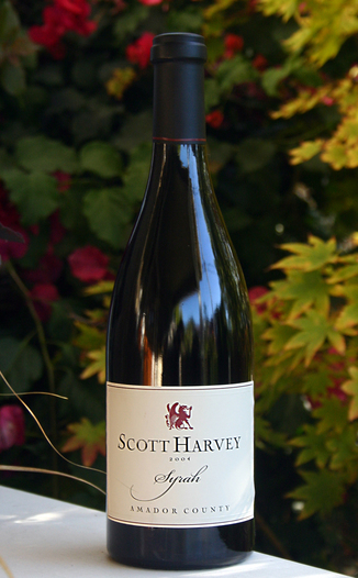 Scott Harvey Wines 2004 Amador County Reserve Syrah 750ml Wine Bottle
