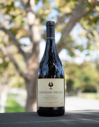 Coleman Nicole 2012 Russian River Valley Bacigalupi Vineyard Pinot Noir 750ml Wine Bottle