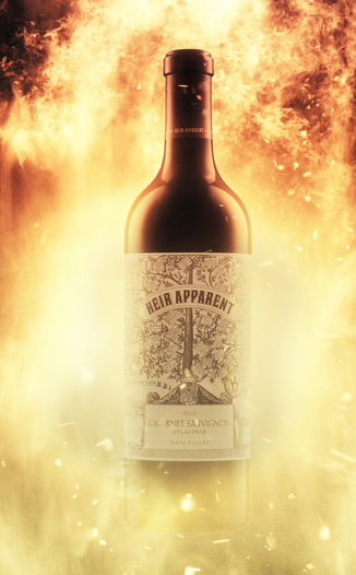 "Grand Napa Wine 2016 ""Heir Apparent"" Atlas Peak Napa Valley Cabernet Sauvignon 750ml Wine Bottle"