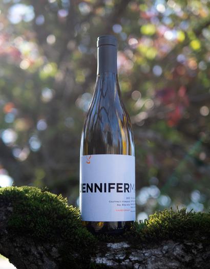 JenniferMark Wines 2015 Courtney's Vineyard Sta. Rita Hills Chardonnay 750ml Wine Bottle
