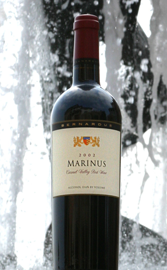 Bernardus Winery 2002 Marinus 750ml Wine Bottle