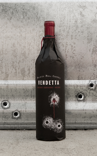 Francis Ford Coppola Winery 2013 Vendetta Red 750ml Wine Bottle