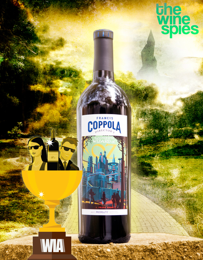 Francis Ford Coppola Winery 2015 Wonderful Wizard of Oz Merlot 750ml Wine Bottle