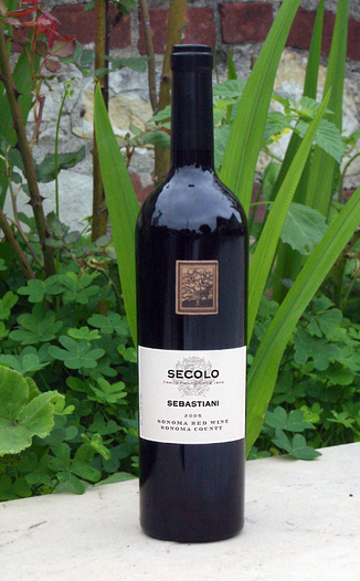 Sebastiani Winery 2005 Secolo Proprietor's Wine Selection 750ml Wine Bottle