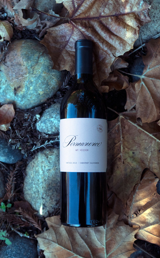 "GrapeSeed Wines 2012 ""Permanence"" Mt. Veeder Napa Valley Cabernet Sauvignon 750ml Wine Bottle"