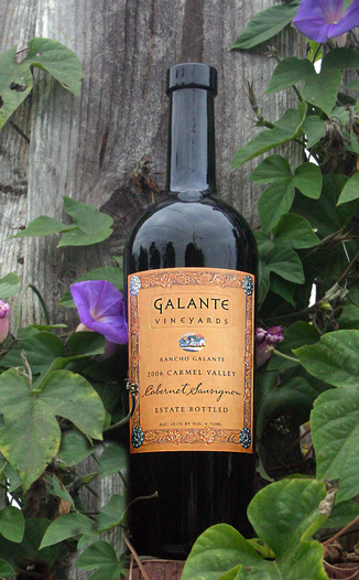 Galante Vineyards 2006 Rancho Galante Cabernet Sauvignon 750ml Wine Bottle