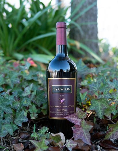 Ty Caton Vineyards 2016 Sonoma County Upper Bench Block Three Red Wine 750ml Wine Bottle