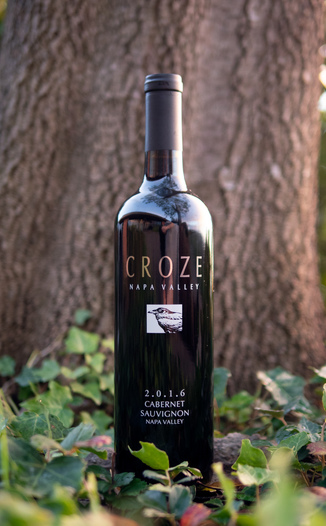 Croze 2016 Napa Valley Cabernet Sauvignon 750ml Wine Bottle