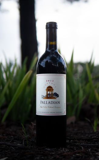 Palladian Estate Winery 2012 Napa Valley Reserve Cabernet Sauvignon (Signed!) 750ml Wine Bottle