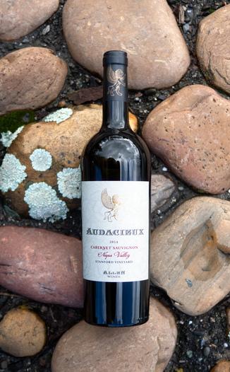 Allen Estate 2014 Audacieux single-vineyard Cabernet Sauvignon 750ml Wine Bottle