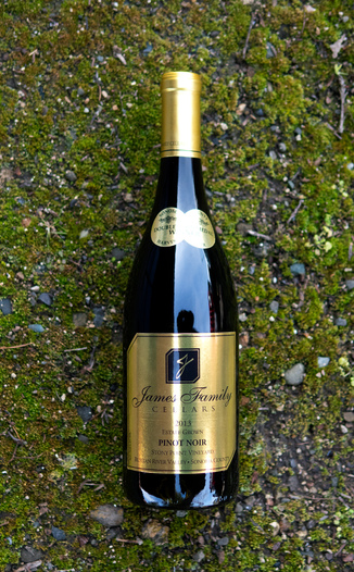 James Family Cellars 2013 Russian River Valley Sonoma County Pinot Noir 750ml Wine Bottle