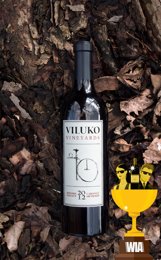 Viluko Vineyards 2012 Sonoma County Estate Cabernet Sauvignon 750ml Wine Bottle
