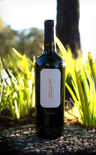 Vineyard 36 2016 Napa Valley Cabernet Sauvignon 750ml Wine Bottle