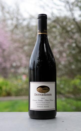 Dutton Estate Winery 2015 Russian River Valley Sonoma County Karmen Isabella Pinot Noir 750ml Wine Bottle